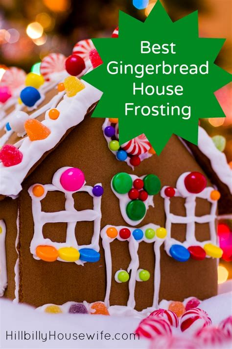 frosting for gingerbread house best gingerbread house frosting hillbilly housewife