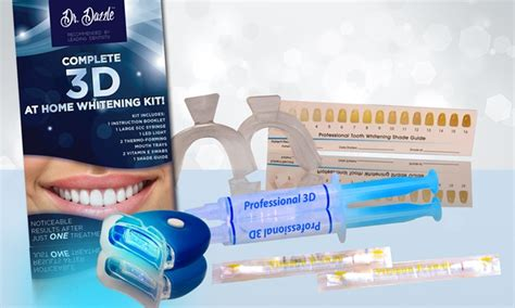 dr dazzle teeth whitening kit groupon goods
