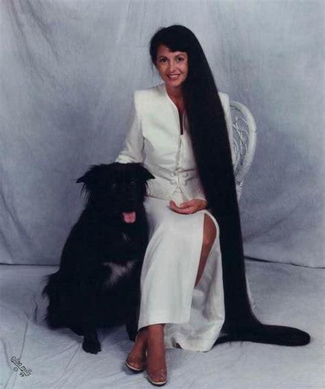 worlds longest femalepubic hair xie qiuping world s longest hair women rare photos