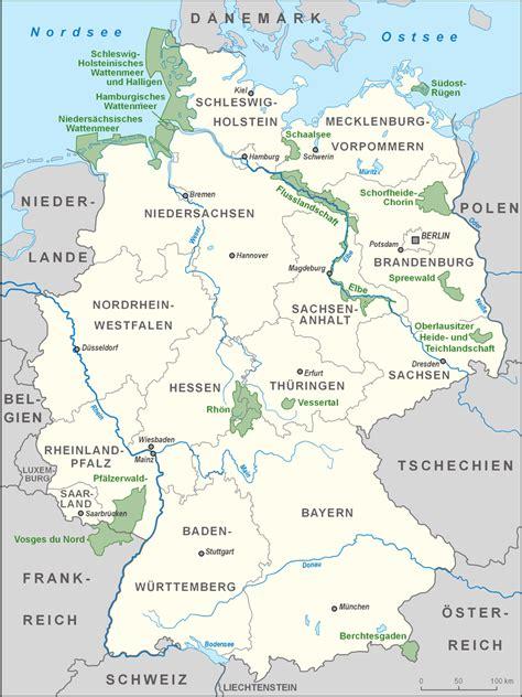 karta deutschland datei karte biosph 228 renreservate deutschland high png