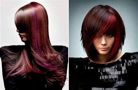 2014 highlights for dark hair fall colors for hair highlights images