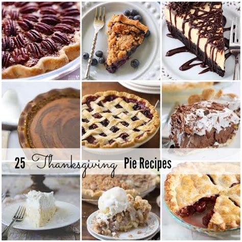 thanksgiving pie and cheesecake recipes the idea room