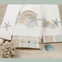 embroidered bath towel by the sea embroidered bath towels