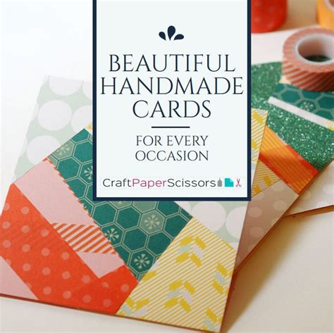 Beautiful Handmade Cards - beautiful handmade cards for any occasion craft paper
