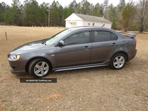 2009 mitsubishi lancer gts sedan 4 door 2 4l