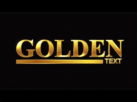 illustrator tutorial gold effect golden text adobe illustrator tutorial youtube