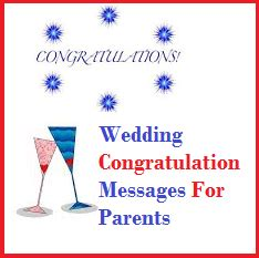 Wedding Congratulations Quotes From Parents by Congratulation Messages Wedding Congratulation Messages