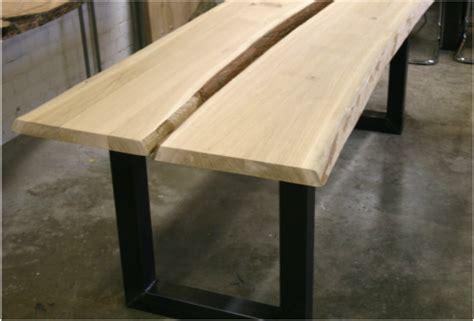 eiken tafelblad laten maken eiken tafel met metalen onderstel natuurlijktafelen