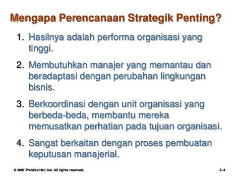 Manajemen Strategik 2 robbins 8 manajemen strategik