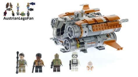 Lego Wars Jakku Quadjumper 75178 lego wars 75178 jakku quadjumper lego speed build review