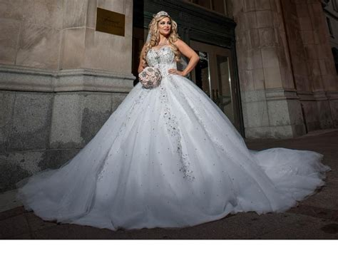 Big Wedding Dresses by Poofy Princess Wedding Dress For Big Princes Dresses