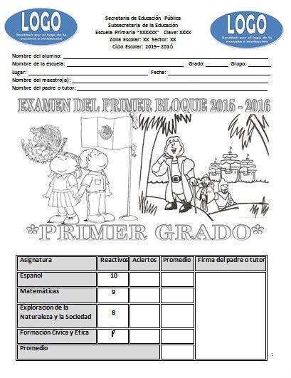 hoja de respuestas resuelta 6 grado 1 bimestre respuestas del examen de 6 grado 1 bimestre primaria 2016