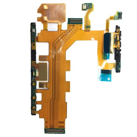 On Volume Sony Xperia Z2 D6502 D6503 volume power button microphone flex cable part for sony