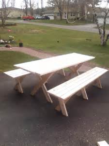 diy picnic table with detached benches building a picnic table with separate benches pdf woodworking