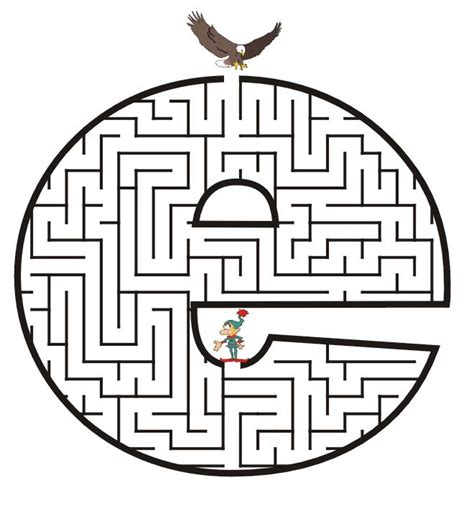 printable maze letter d 111 best free mazes images on pinterest christmas crafts