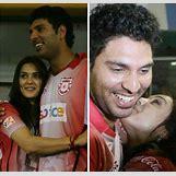 Yuvraj Singh With Preity Zinta Kiss   640 x 611 jpeg 203kB