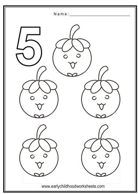Number 5 Coloring Pages For Toddlers by Get This Number 5 Coloring Page 562s5