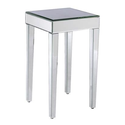 Mirrored End Table Target by Mirrored Side Table