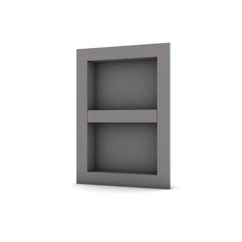Shower Shelf Insert Home Depot durock 16 in x 24 in x 4 in shower niche 170135 the home depot