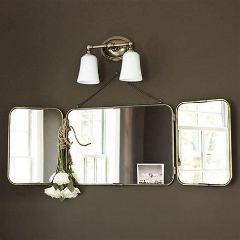 tri fold bathroom vanity mirrors tri fold vanity mirror products