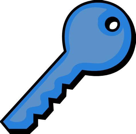 key clipart blue key clip at clker vector clip