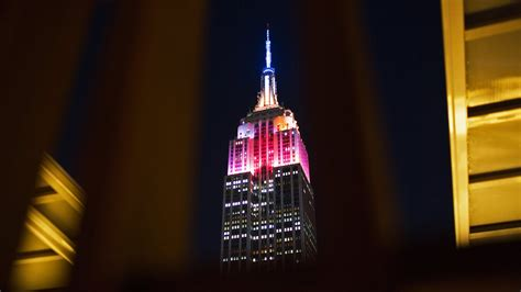 empire state lights today york today empire state of lights the york times