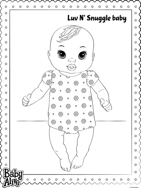 baby alive coloring pages baby alive coloring pages getcoloringpages