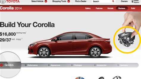 toyota corolla official website 2014 toyota corolla featured a mercedes v6 until last