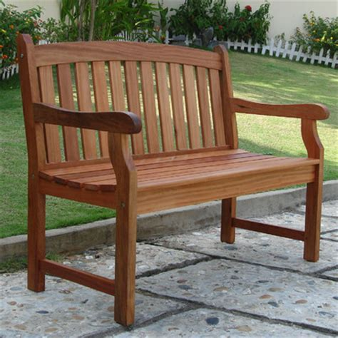 Outdoor Benches Wood vifah outdoor furniture wood garden bench reviews wayfair