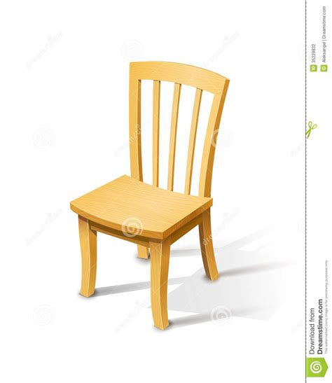 Chair Illustration by Wooden Chair Stock Photography Image 35229832