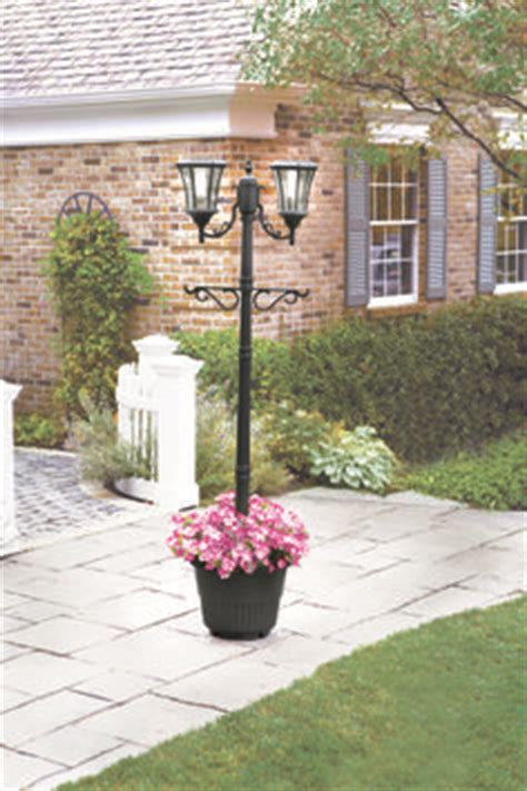 Sunergy Solar L Post With Planter Base by Sunergy Solar L Post With Planter Base 50400356