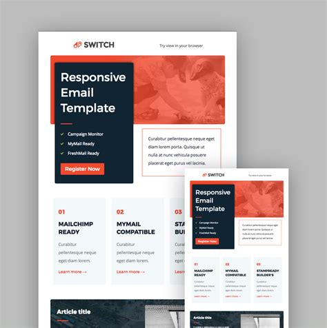 free email templates for mailchimp 19 best mailchimp responsive email templates for 2018