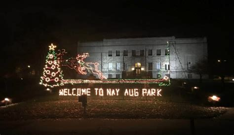 nay aug park holiday light show starts friday night news