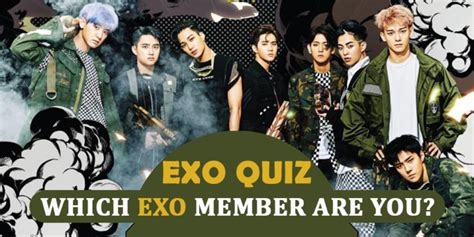 blackpink quiz which member are you exo quiz 2018 which exo member are you