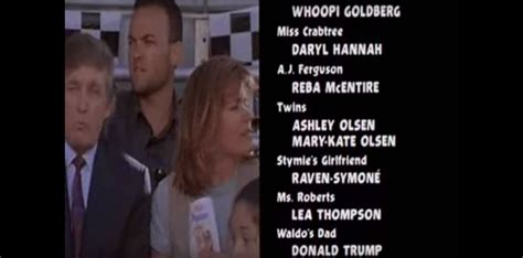donald trump movie donald trump s tv and movie cameos from the 90s