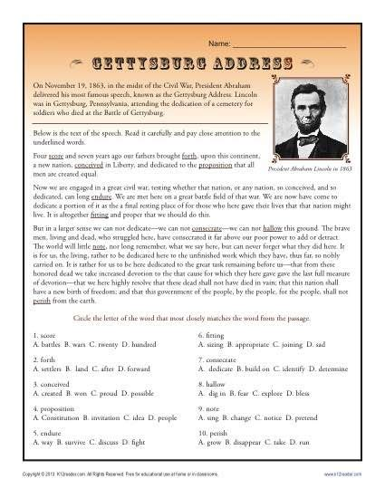 printable version of emancipation proclamation emancipation proclamation worksheet worksheets