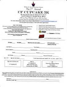 Race Registration Template by Race Registration Form Template Bestsellerbookdb