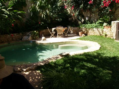 My View From Merida Nice Backyard Pool Nope It S Not Mine
