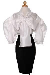 Rok Trendy Sp 647 Navy white sleeve blouse chevron blouse