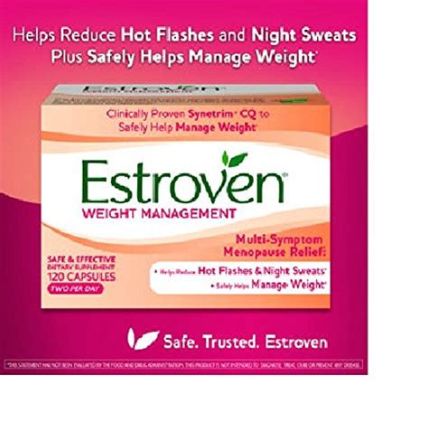 weight management estroven special deal estroven weight management 120 capsues 2