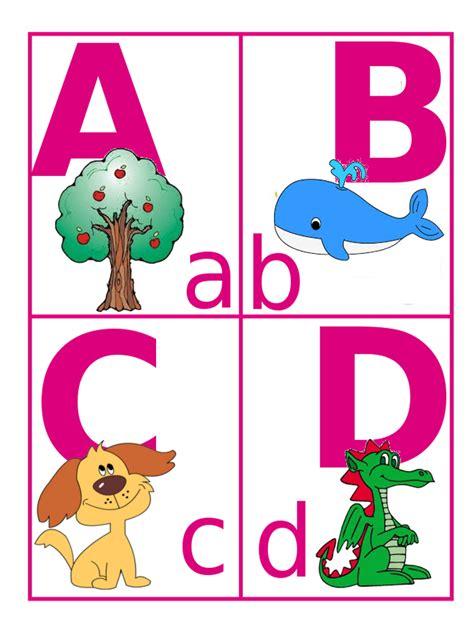 quattro lettere d didattica impariamo le lettere con l alfabeto illustrato