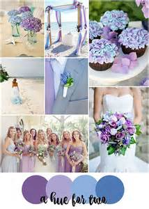 blue and purple wedding colors blue and purple colour scheme wedding ideas by colour chwv