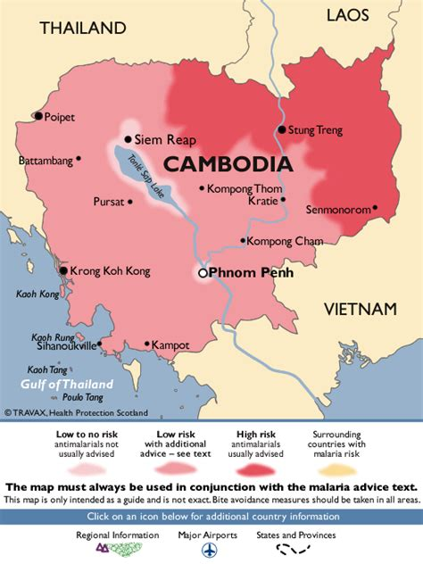 malaria map malaria in south and southeast asia retreatours