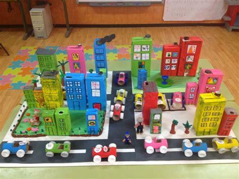 maquetas de ciudades con material de reciclaje las 25 mejores ideas sobre maquetas escolares en pinterest