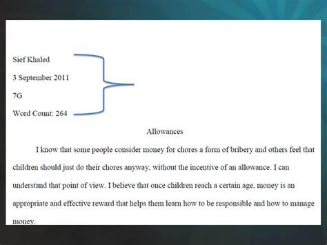 Proper Mla Essay Format by Mr Jb S Literature Class Proper Mla Format