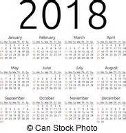 Calendar 2018 Singapore With Week 2018 Illustrations And Clip 3 867 2018 Royalty Free