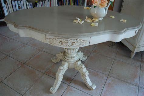 Table Violon by Le Gu 233 Ridon Violon 3 232 Me 233 Meubles Peints Et Compagnie
