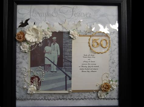 Wedding Anniversary Layout by Layout 50th Wedding Anniversary Page