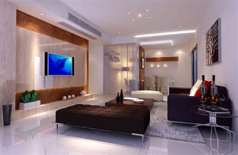 fashion simple blue living room interior design 3d simple fashion design living room 3d model download free