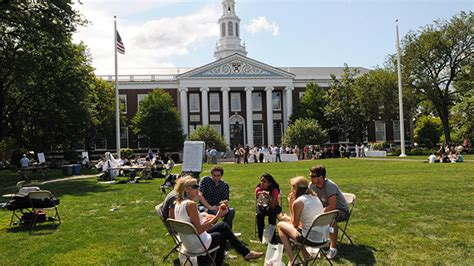 Smb Harvard Mba Linkedin by Outdoor Spaces About Harvard Business School